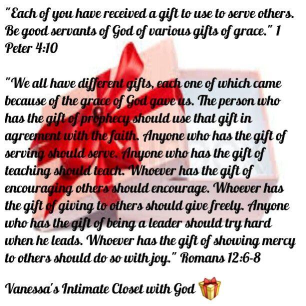 1 Peter 4 10 Romans 12 6 8 1 Peter 4 1 Peter Grace Gift
