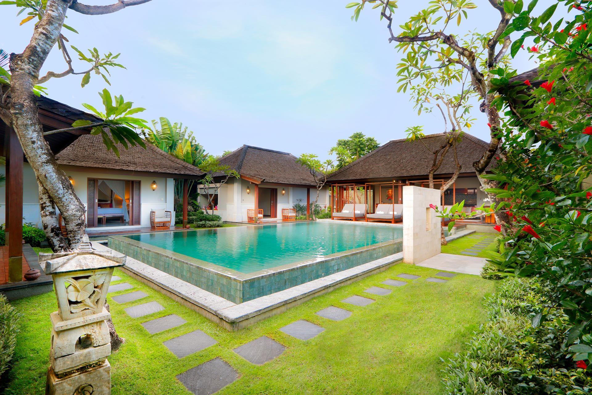 ausmalbilder villa mit pool