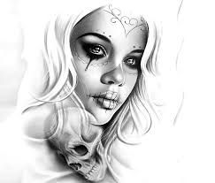 607d827c9 Image result for mexican girl tattoo designs | Sugar Skull Art ...