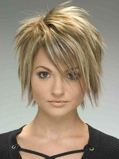 Spunky Hairstyles For Medium Length Hair Google Search Short Punk Hair Short Choppy Haircuts Hair Styles