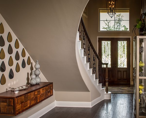 Model Home Foyer Pictures : Photo & video gallery trendmaker homes dream home: foyer entry