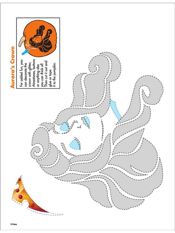 100  Free Disney Halloween Pumpkin Carving Stencil