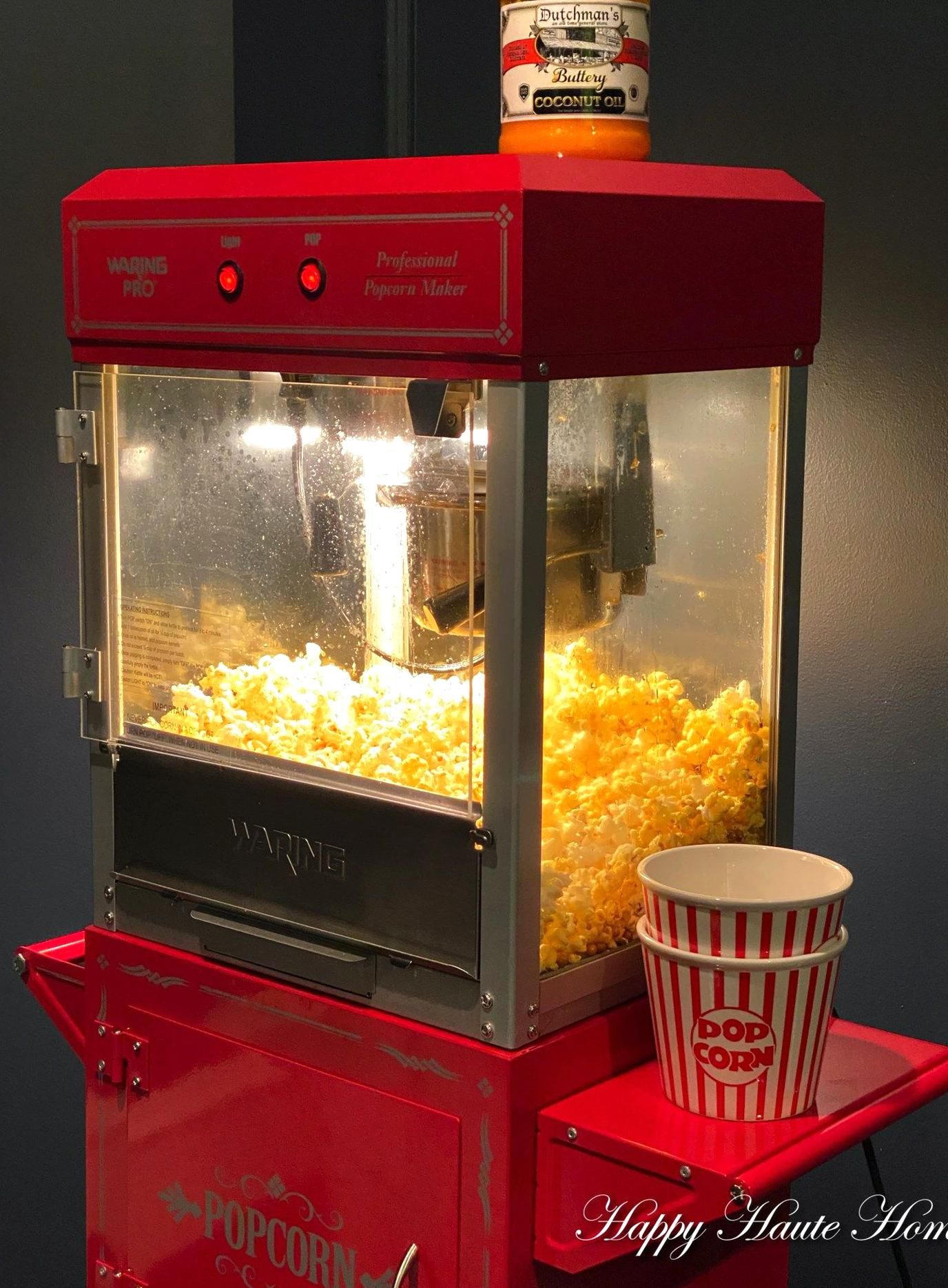 How To Make Authentic Movie Theater Popcorn