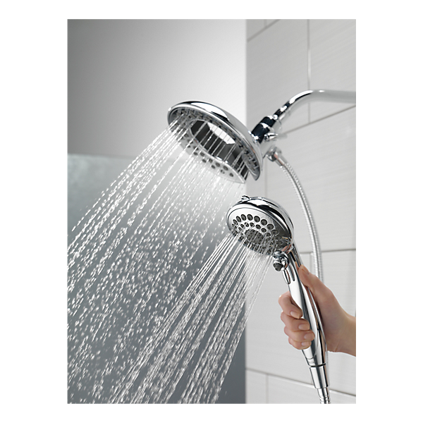 58569 Pk Shower Head Reviews Delta Shower Heads Shower Heads