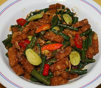 Asian food tempe