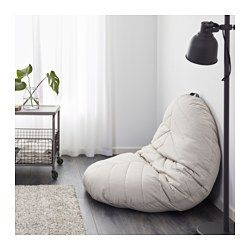 A spacious seat on the floor or a comfortable and relaxing cozy moment with DIHULT folded against the wall. Simple and easy! The cover is easy to keep clean as it is removable and can be machine washed.