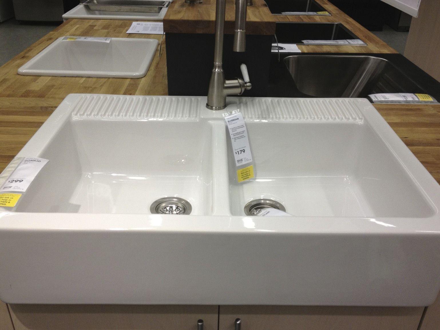 Ikea Kitchen Tour Ikea kitchen sink, Farmhouse sink
