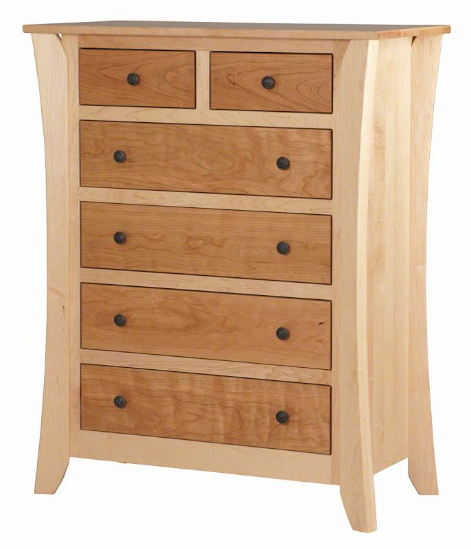 Kyoto Dresser in Natural Hard Maple and Cherry from Erik Organic