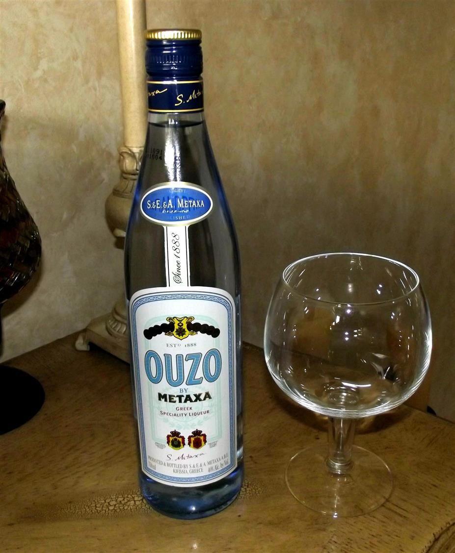 Ouzo Greek Choice For This Weekend Vodka Bottle Bottle Ouzo
