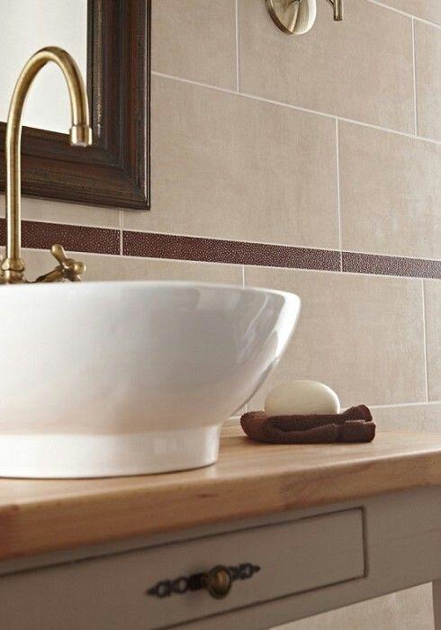 Natural Bathroom Tiles ♡