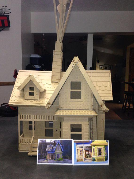 Carls Abode Large Model Kit Up House Birthday Proposal