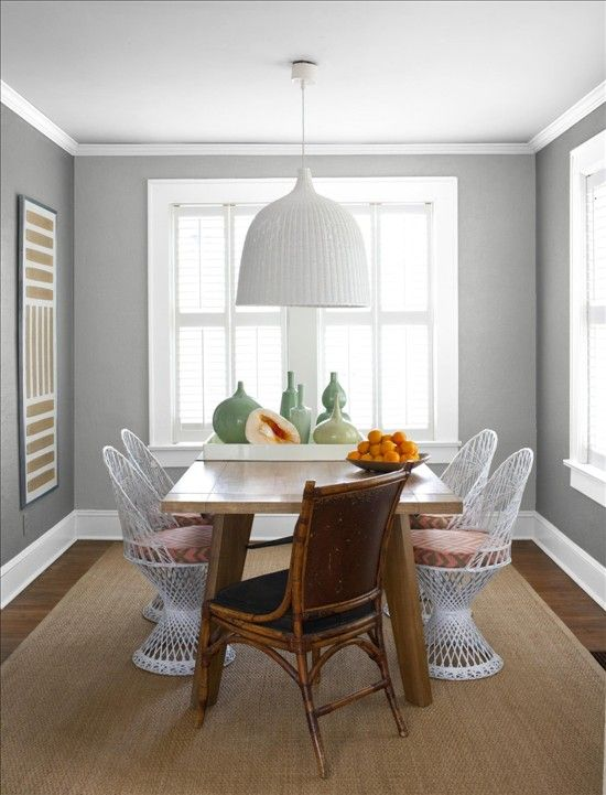Better Homes And Gardens My Color Finder Glidden Granite Gray Benjamin Moore Dining Room