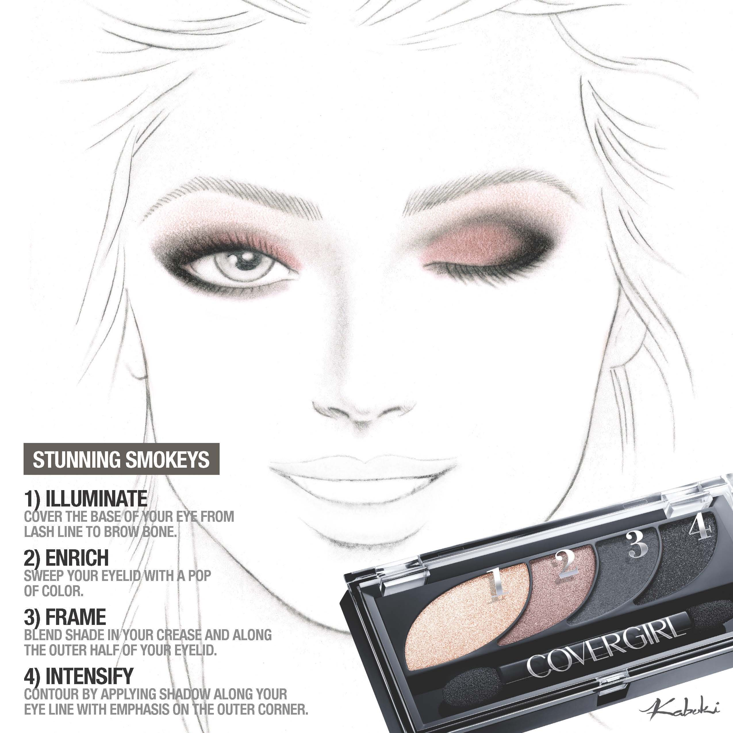 Modern Smokey Eye Shadow Howto: Deep Charcoals And Warm Nudes Take Center  Stage