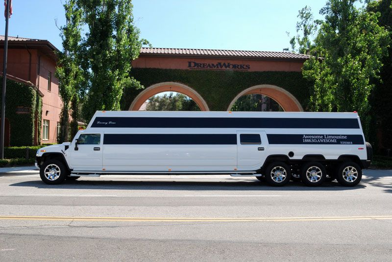 H2 Hummer You Can Stand Up In Awesome Limousine Is