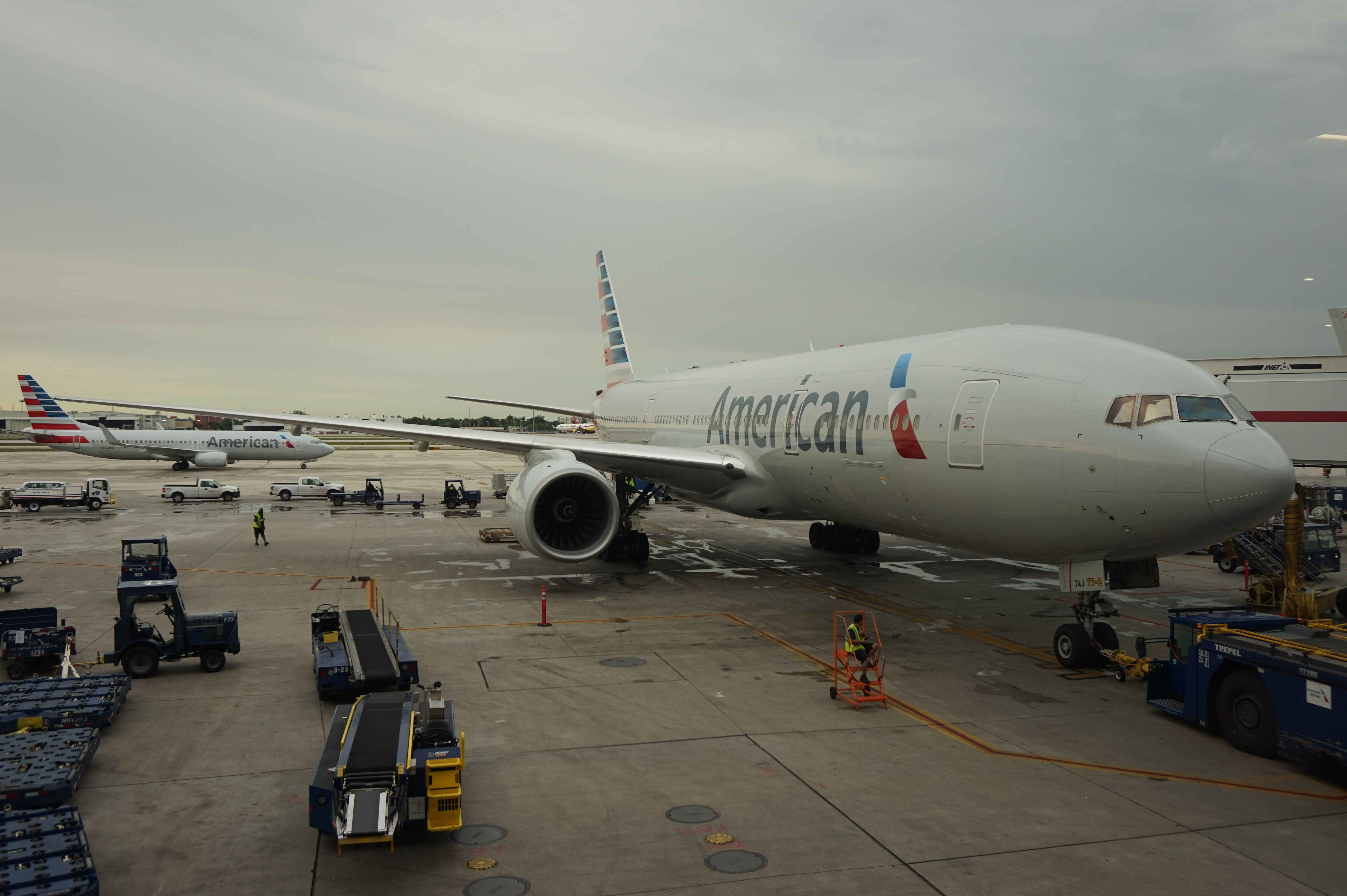 American Airlines A330 at Miami International Airport