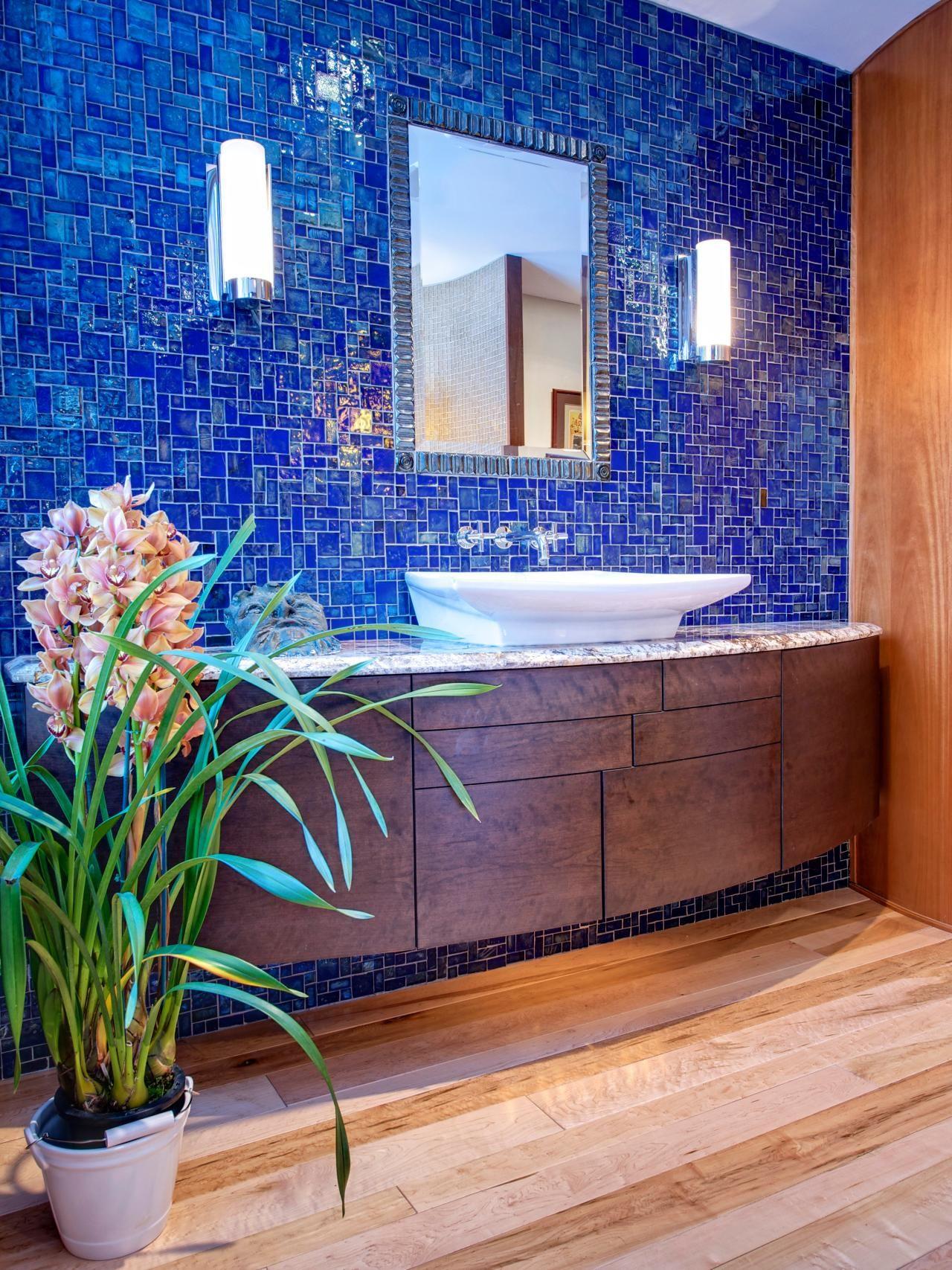 Tumblestone Bathroom SInk | Phoenix Tile Installation Ideas ...
