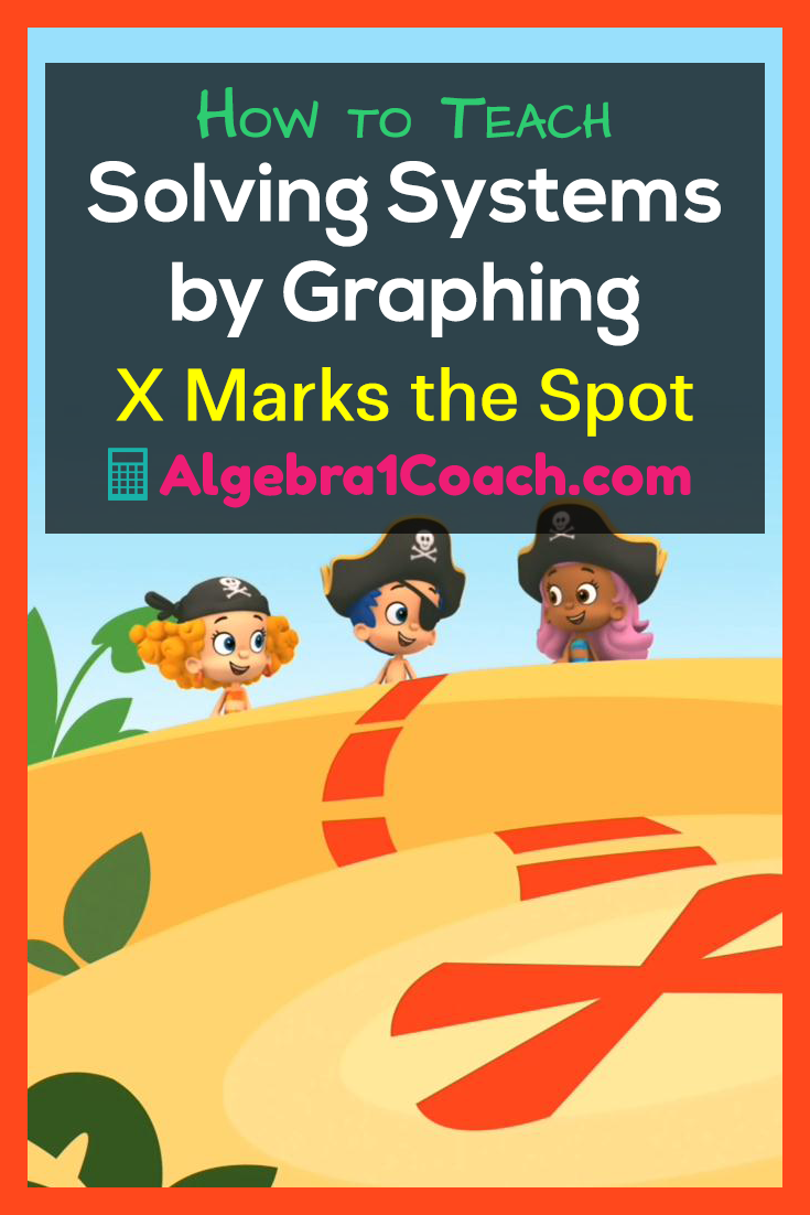 Solving Systems By Graphing X Marks The Spot Algebra 1 Teacher
