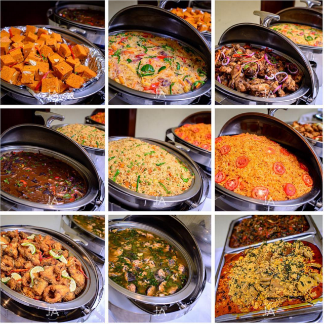 Wedding Food Buffet Menus: Party Chops: Wedding Menus Naija Style
