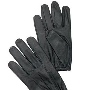 Military Shooters Gloves Black Ultra Thin Cowhide Leather All Purpose Glove