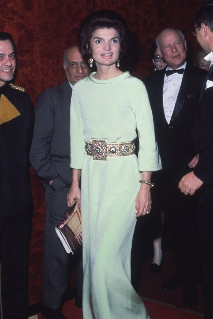 16 Style Lessons to Learn from Jackie Kennedy - Cinch with a Statement Belt from InStyle.com