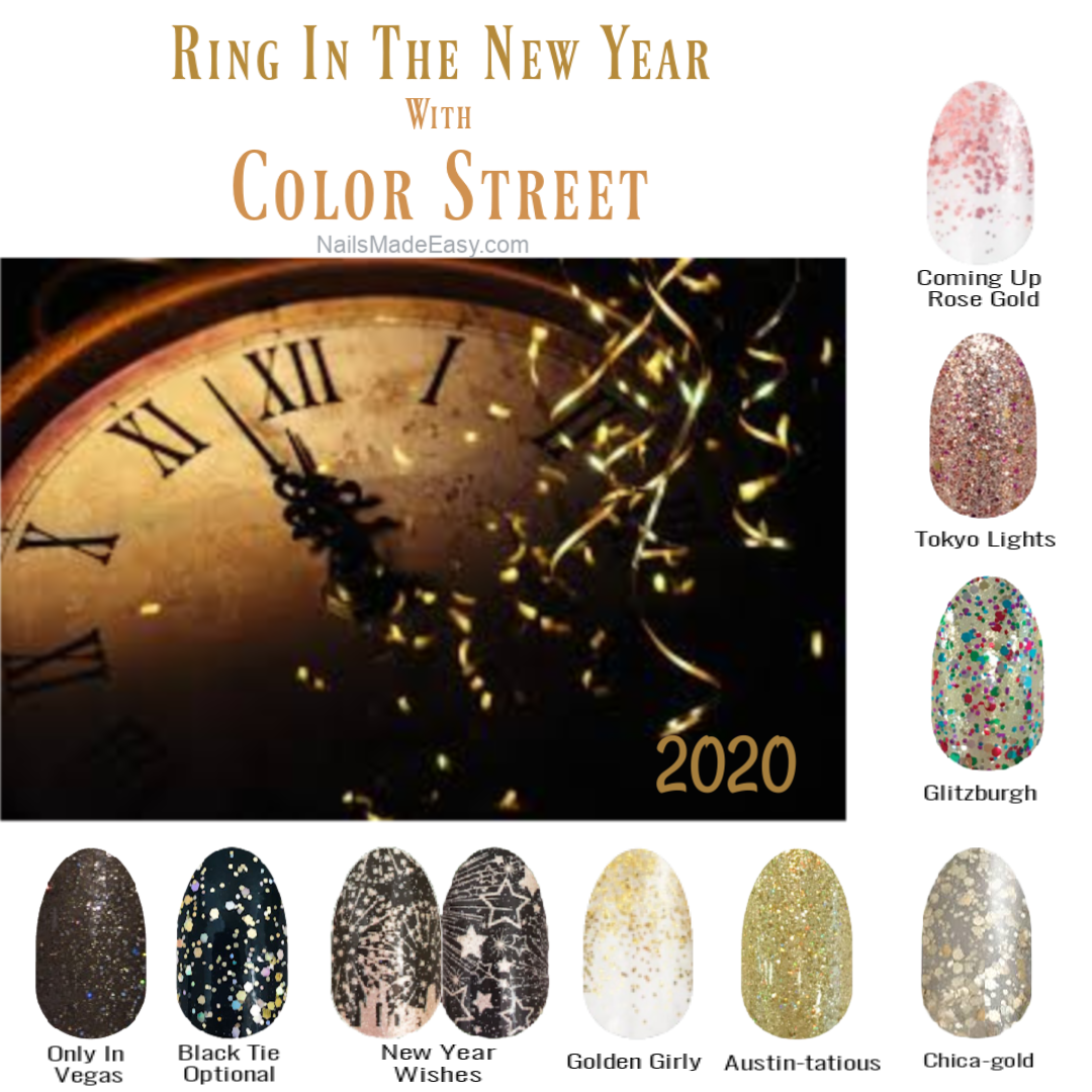 New Years Eve Color Street New Year S Eve Colors Color Street Nails Color Street