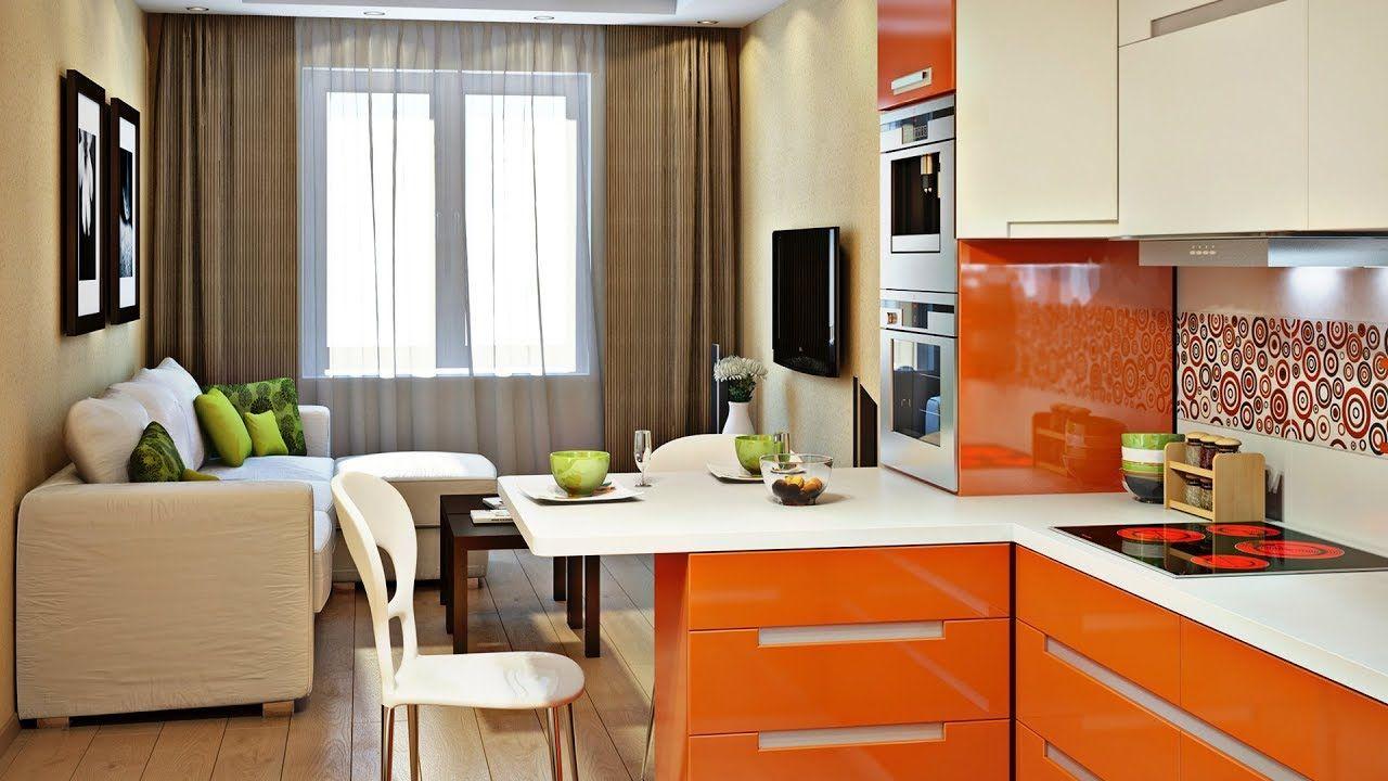 combo modern kitchen  living room design  50 cool home