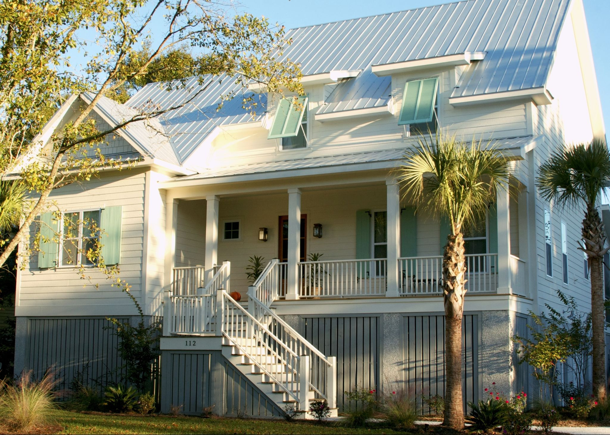 Creek Collection Flatfish Island Designs Coastal Home Plans Coastal House Plans Coastal Cottage Coastal Homes