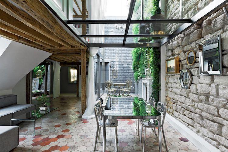 Faites Un Toit En Verre Pour Votre Terrasse Moderne  Basement