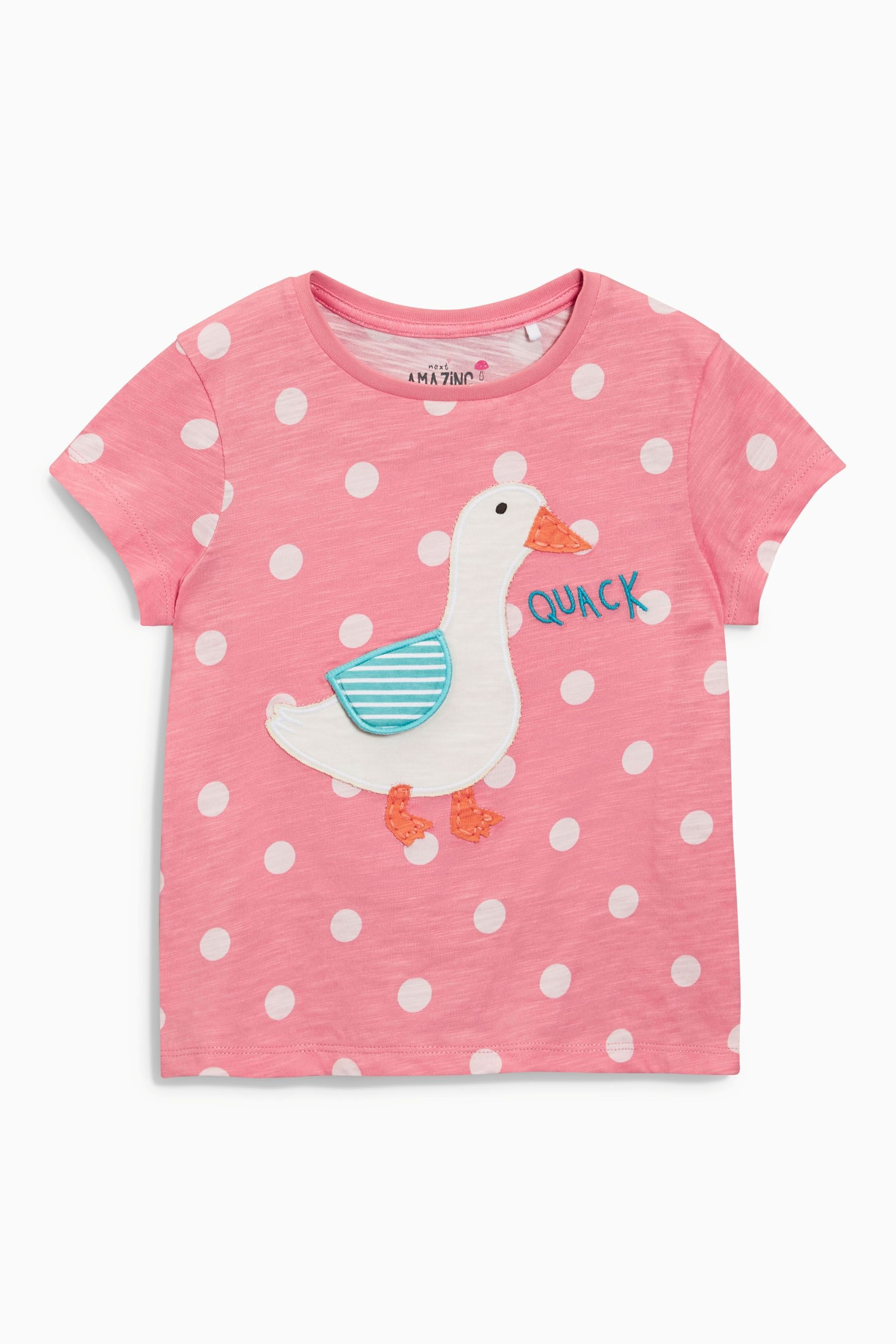 Buy Pink Duck T Shirt 3mths 6yrs Online Today At Next United