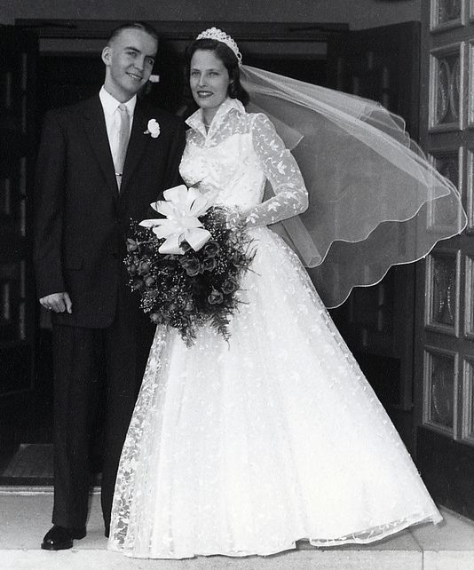 Real 50s Wedding: A June Bride In