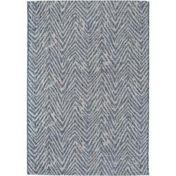 Photo of alfombra de interior y exterior benuta Plus Cleo Blue 120×170 cm – para balcón, terraza y jardín