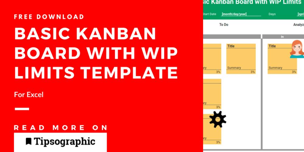 Kanban Board Template For Excel And Google Sheets Free Download Tipsographic Kanban Board Kanban Personal Kanban