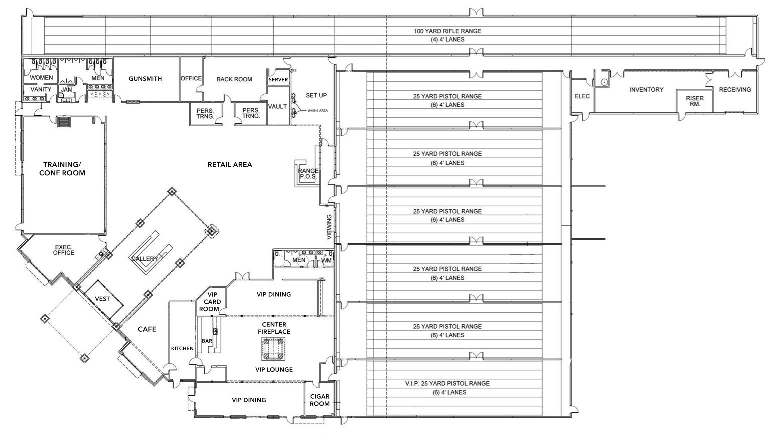 small resolution of floorplan frisco gun club