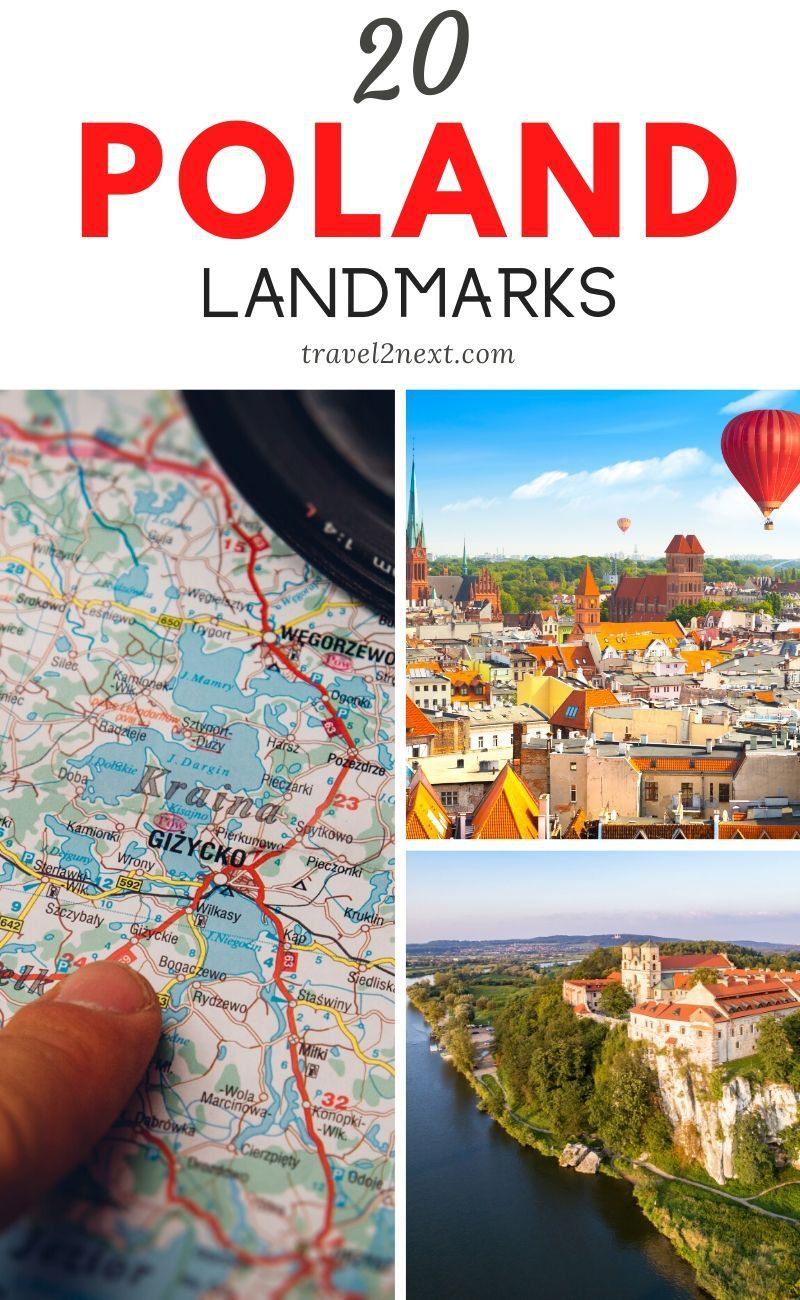 20 Incredible Landmarks in Poland. Visitors can wander the castles great halls and fascinating rooms with the assistance of detailed audio guides that use GPS to ensure each room can share its story. #poland #polish #landmarks #travelideas #travel #europe