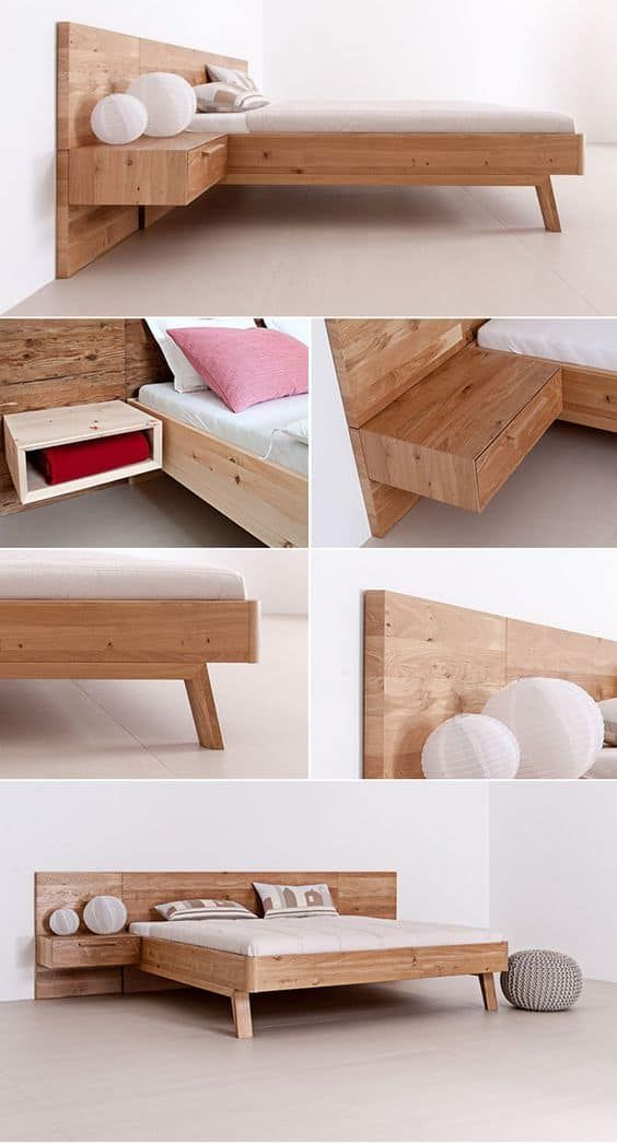 100 Bedroom Ideas For Small Area Solid Wood Bed Wood Bed Design