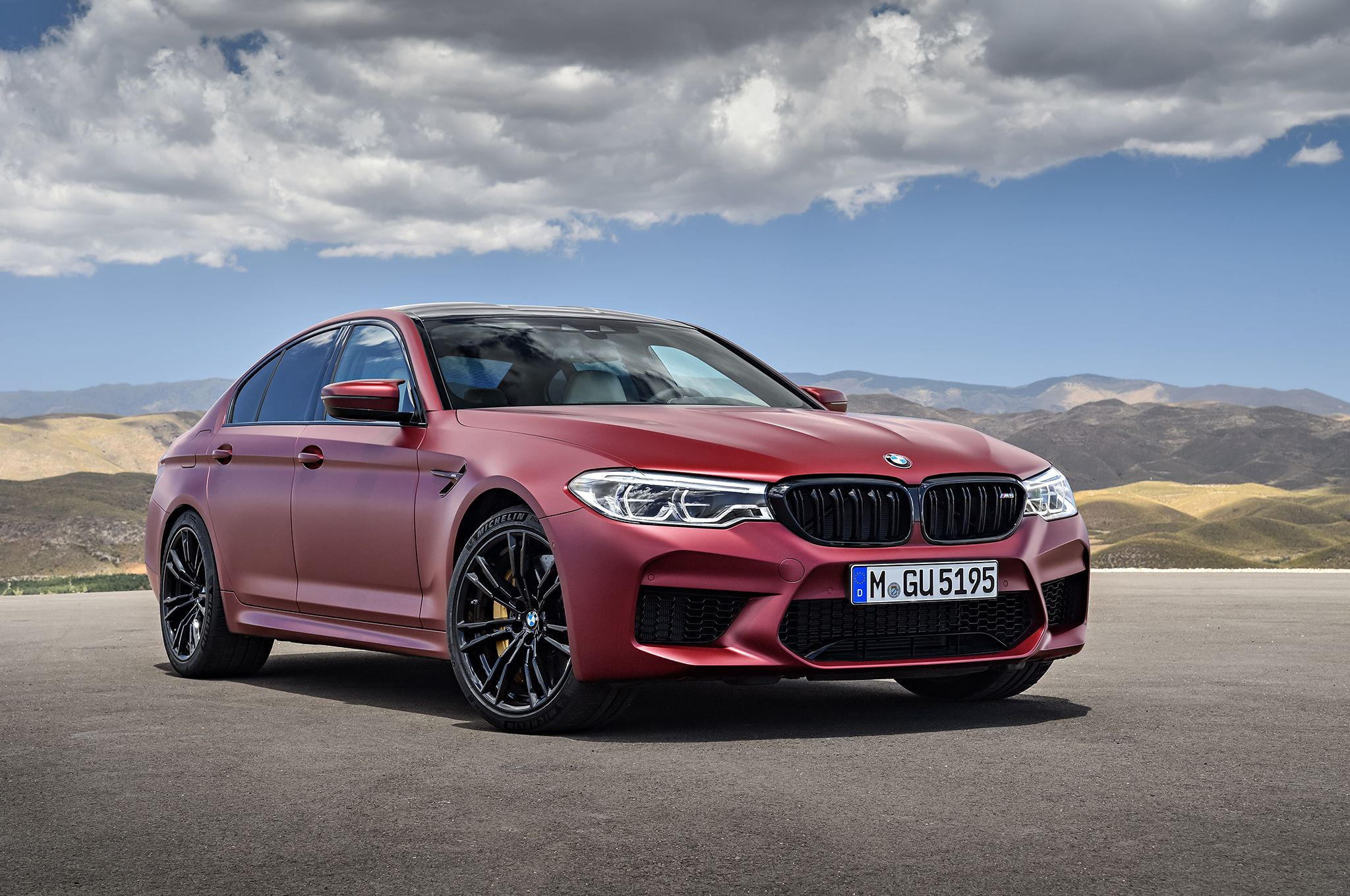 2018 Bmw M5 Arrives Packing A 600 Hp Twin Turbo V 8 Bmw