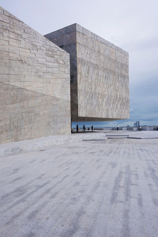 Musikalischer Fels in der Brandung - Konzerthaus in Mexiko von Rojkind Arquitectos #arquitectonico