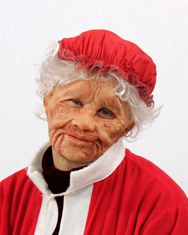 Supersoft Mrs Claus Mask Sku The Sculpt Has Great