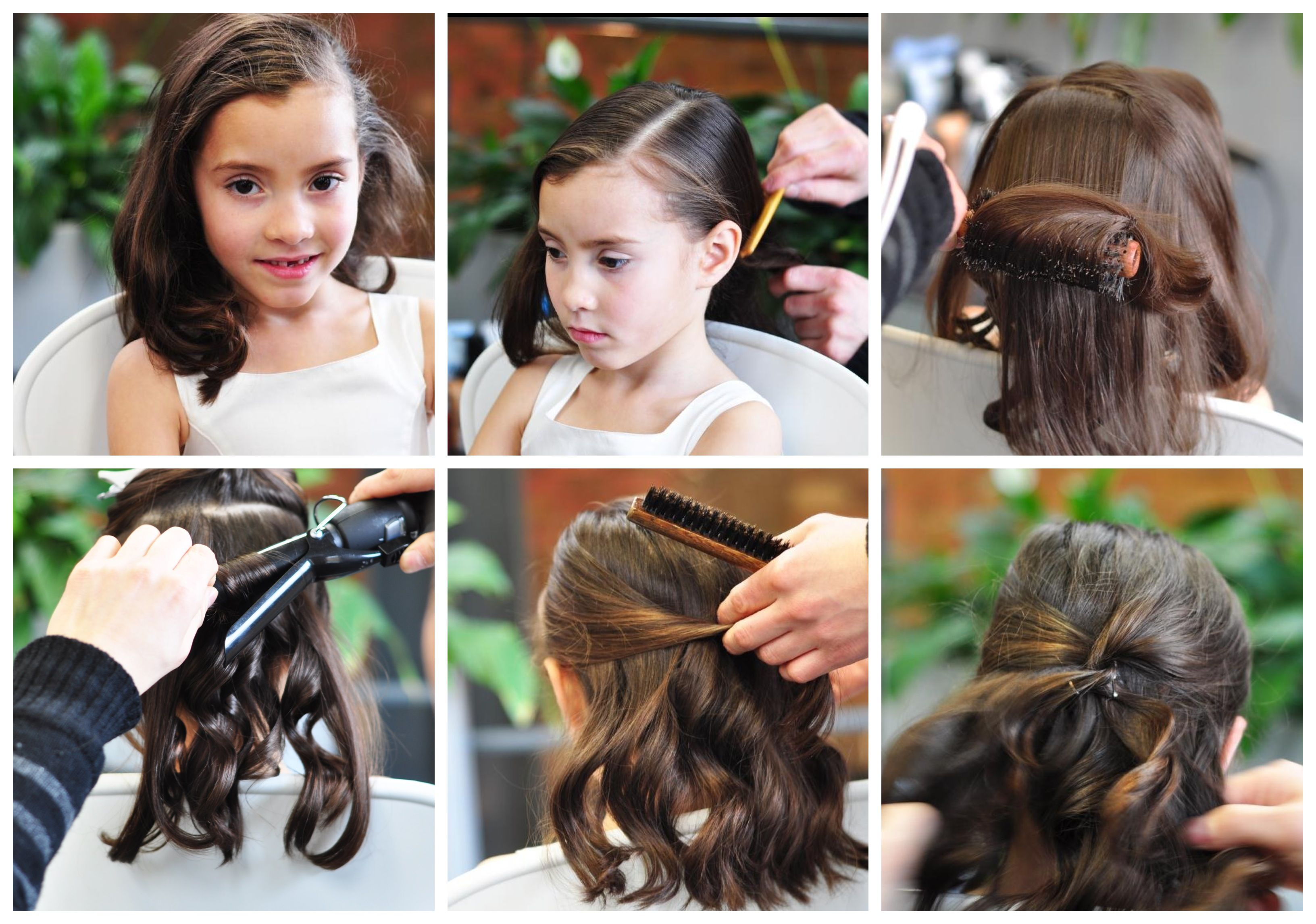 create a classic curl hairstyle for girls   hair   hair