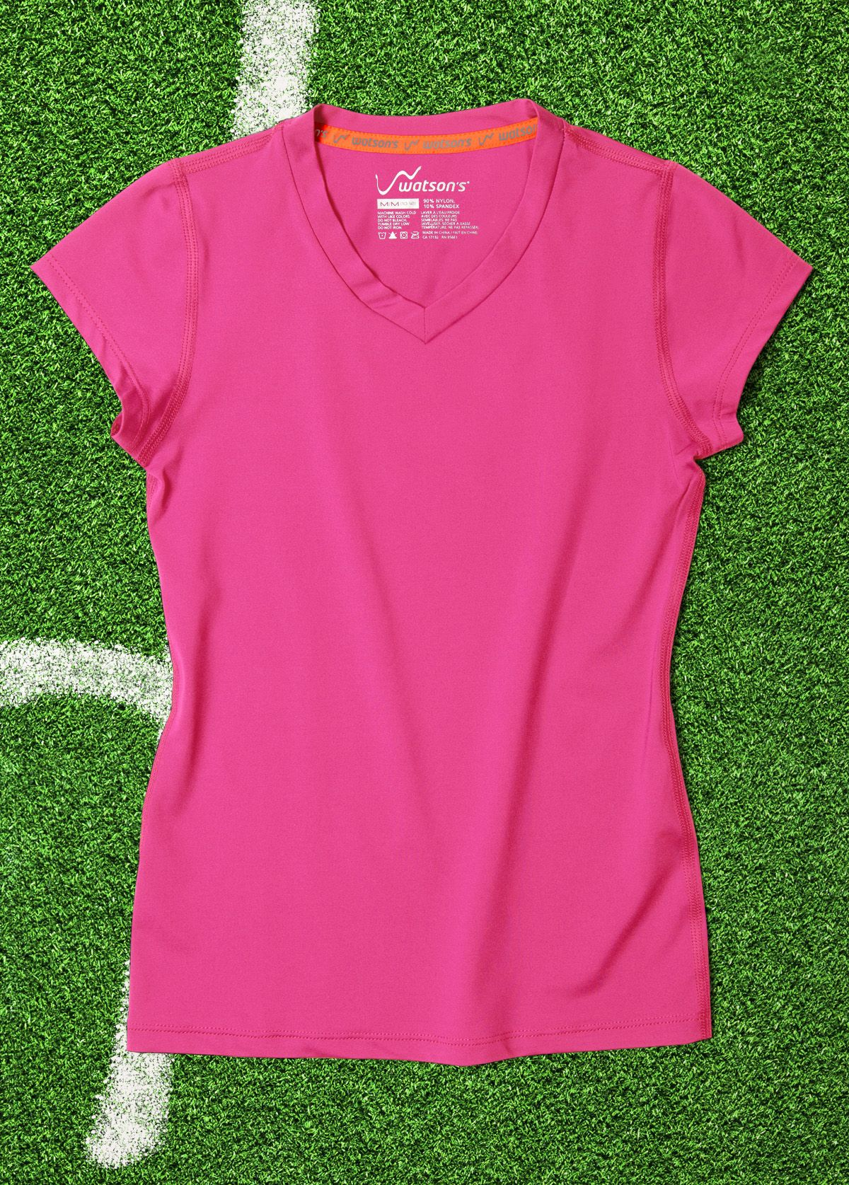 944df2ee Pink Girl #T-Shirt   90% nylon / 10% spandex - Watson's #Sport #Apparel