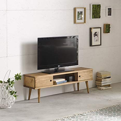 Amazonde hogar24-mesa Fernsehen, Möbel TV Wohnzimmer Vintage, 2