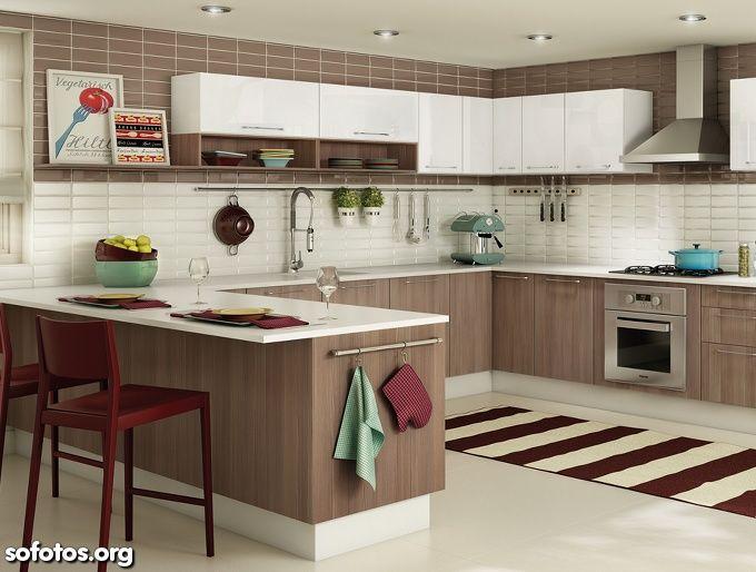 Fotos de cozinhas planejadas sofotos.org decocasa pinterest