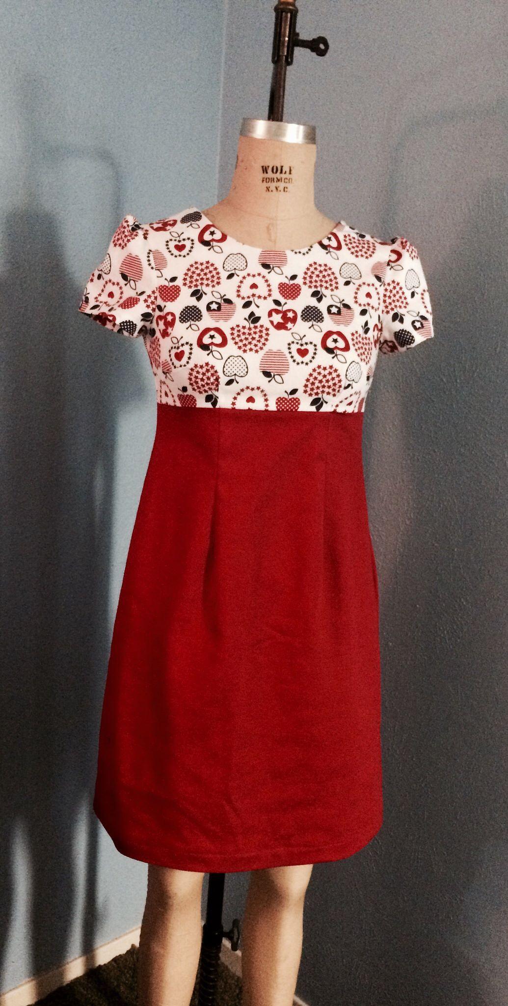 Modern dressmaker buttons - Tilly And The Buttons Megan Dress