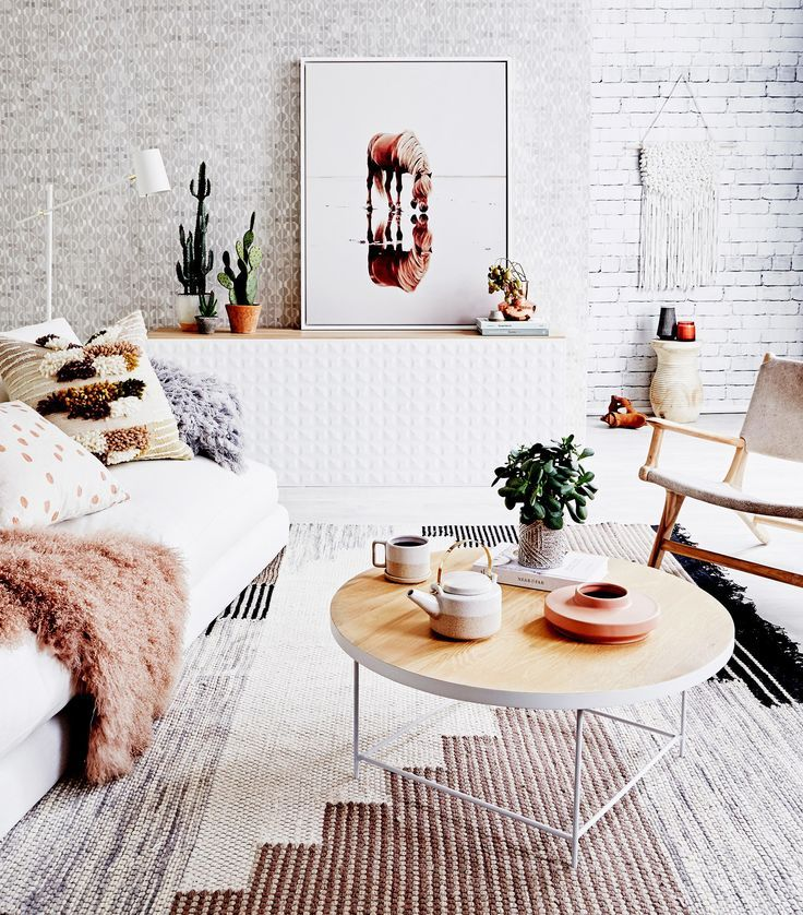 Unique Living Room Decor: Living Room Ideas: This Unique Living Room Rug Will