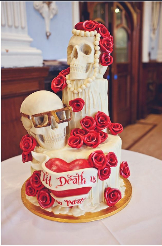12 Amazing Skull Cakes Which One Is Your Favorite