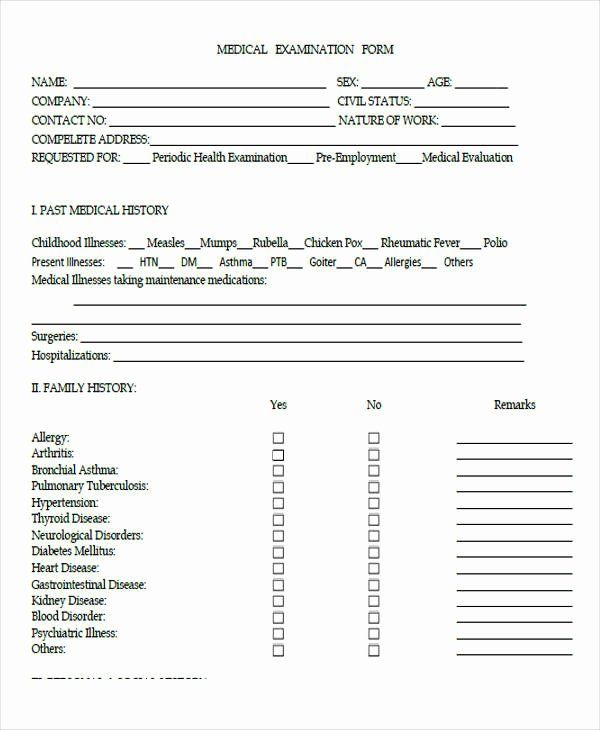 30 Employment History Form Template In 2020 Templates