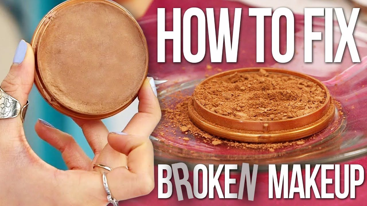 How to Fix Broken Makeup FAST! Fix broken makeup, Broken
