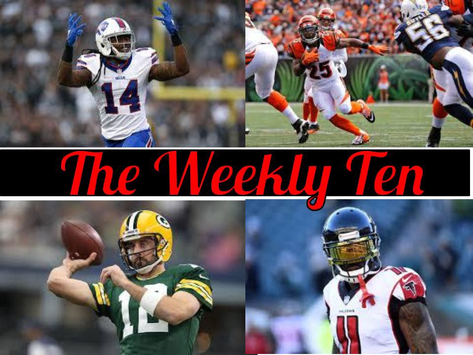 The Weekly Ten Nfl Fantasy Football Fantasy Football Football