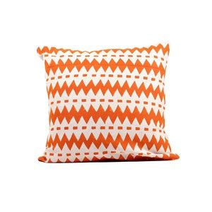 "Wavy Stripes Pillow 16"" Orange, $30, now featured on Fab."