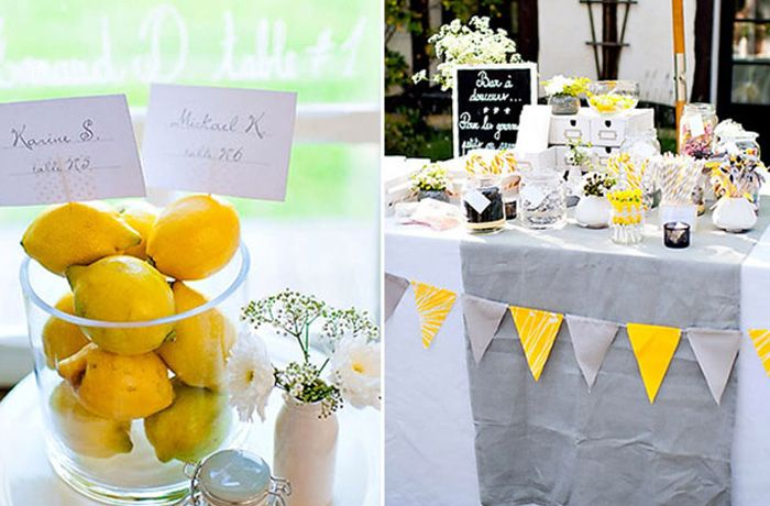 Wedding Colour Palette Inspiration Yellow and Grey | The BIG Day! 06 ...